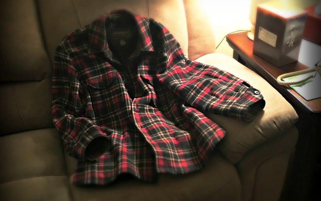 Widowhood and a Checkered Shirt